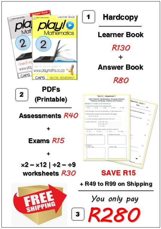 Gr 2 Bundle Deal - Maths/ Wiskunde