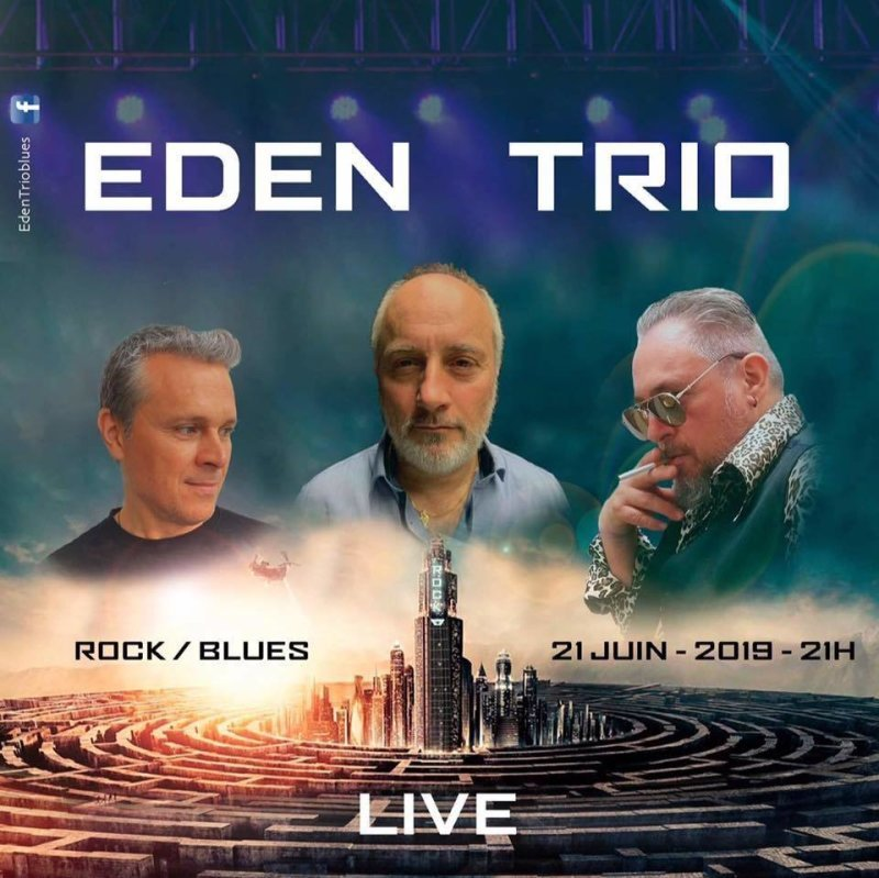 EDEN TRIO BLUES , rock, blues
