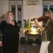 Sandra Matiser et Anya violon  duo violon/voix
