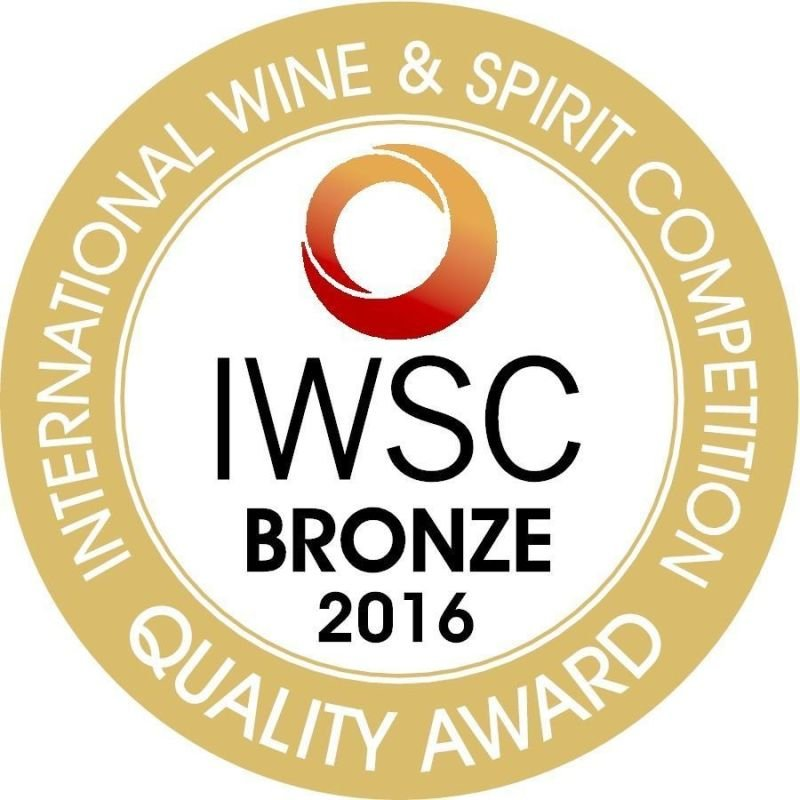 IWSC 2016: CATEGORY GIN Bronze Medal