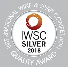 IWSC 2018 : GIN & TONIC Silver Medal