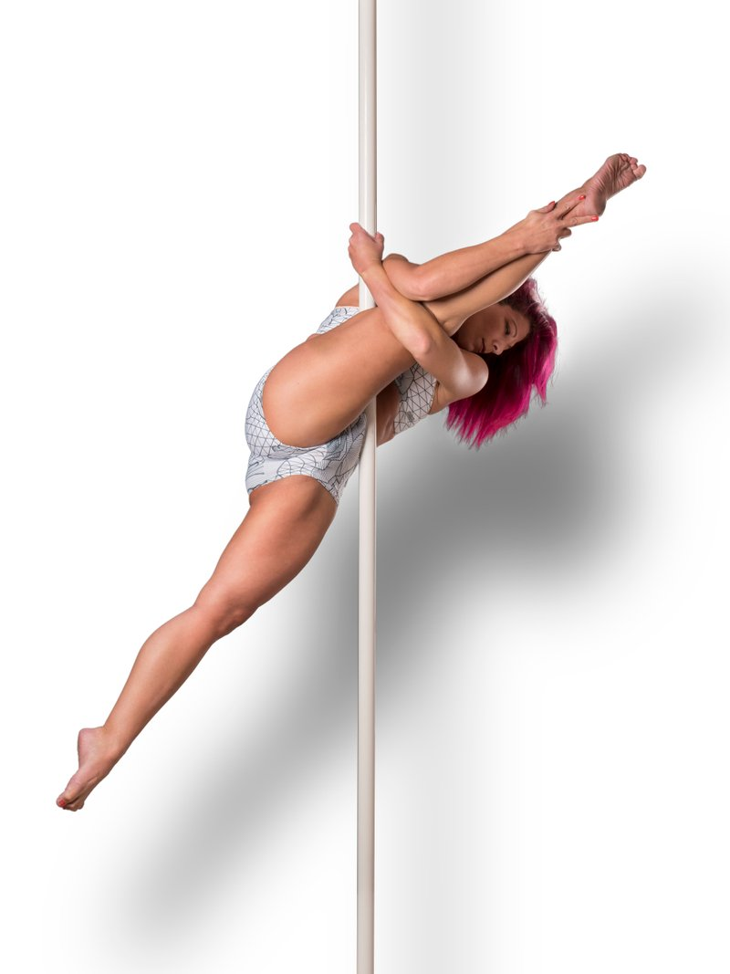 Live pole dance