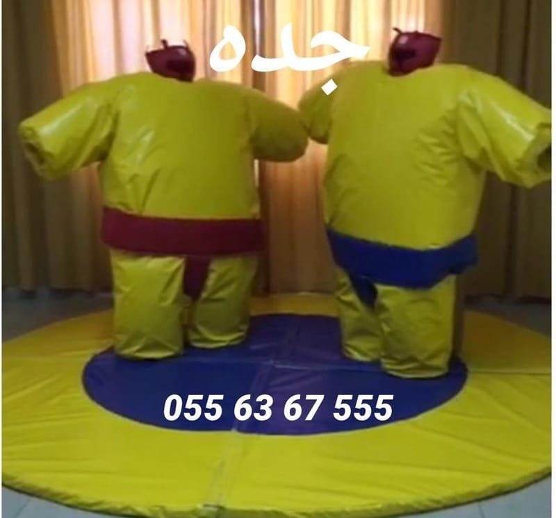 لعبة السومو قطر الارضية 3م*3م (السعر 800 ريال)