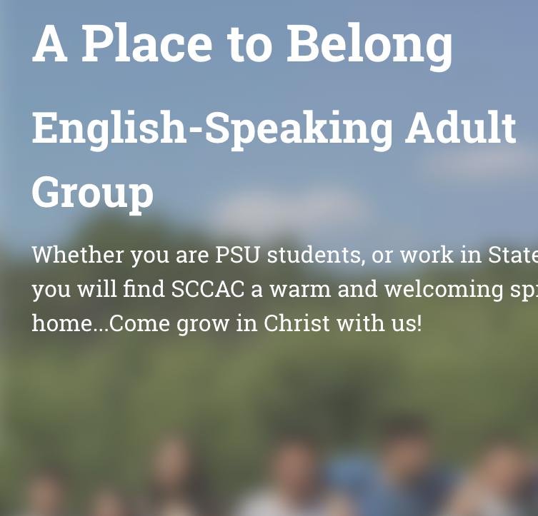 English Small Group