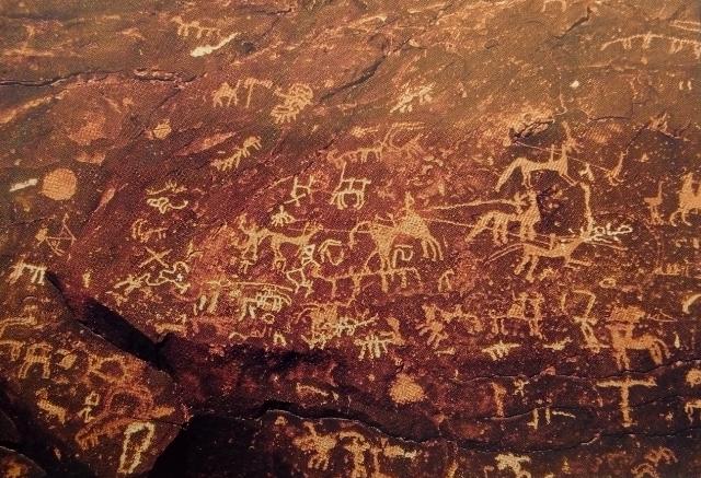 12 000 years of Rock Art in the desert