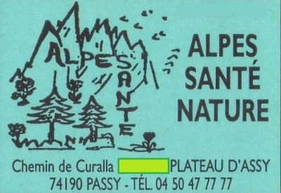 ALPES SANTE NATURE