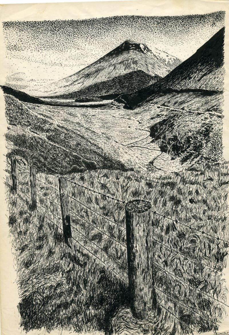 paysage d'écosse d'après photo