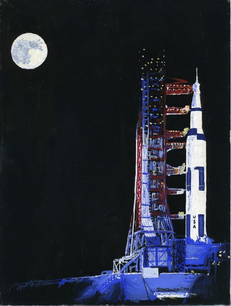 Apollo 11 à la veille de son lancement