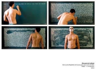Marlon Portales: from language to perception.