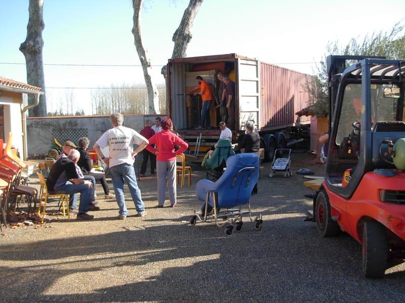 Collectes et dons pour les containers
