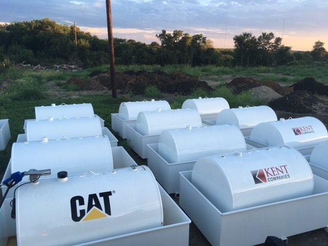 1000 Gallon Fuel Storage Tanks