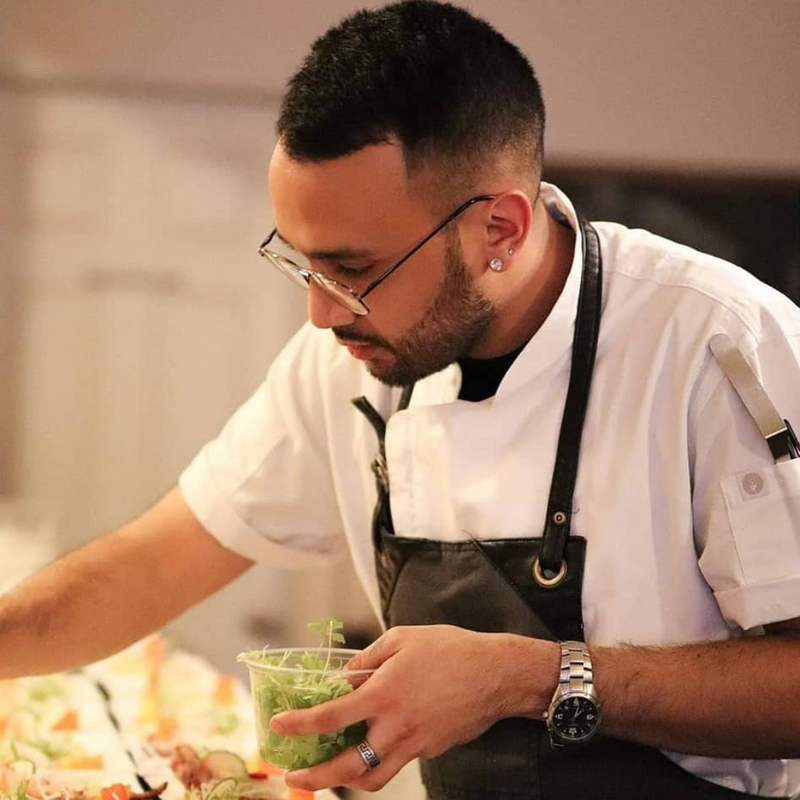 Chef Arnold Yescas