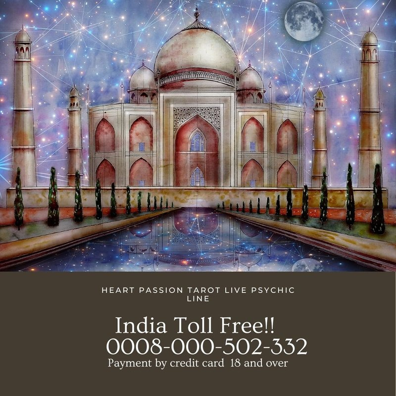 INDIA LIVE PSYCHIC LINE -TOLL FREE  0008-000-502-332