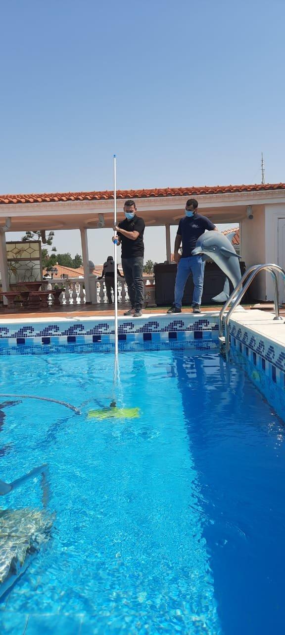 شركة تنظيف مسابح بجدة تنظيف وتعقيم برك السباحة