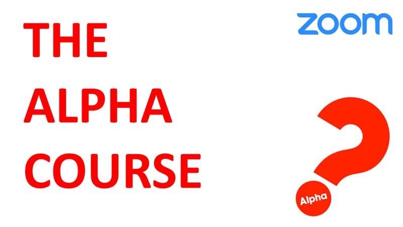 5/3 (月)(19:30) Alpha Course (on Zoom)