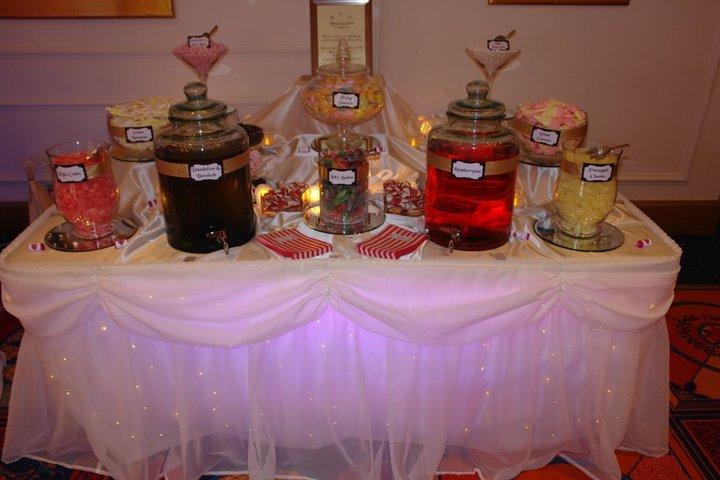 Candy & Soda Buffets