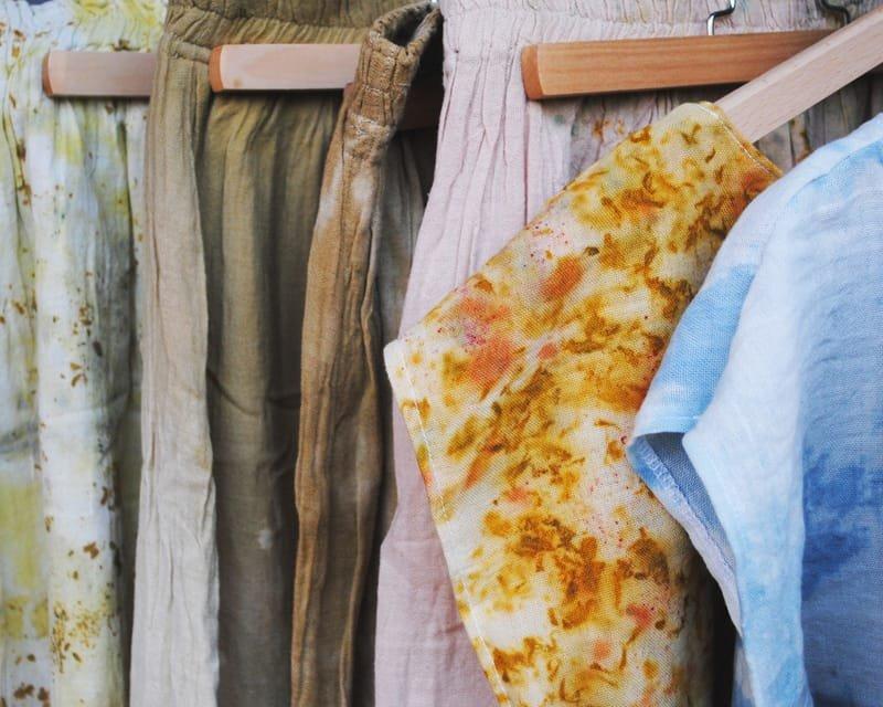 Les teintures naturelles/végétales