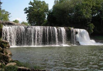 Khám phá mùa thu tại thác nướcCataractIndiana Hoa Kỳ