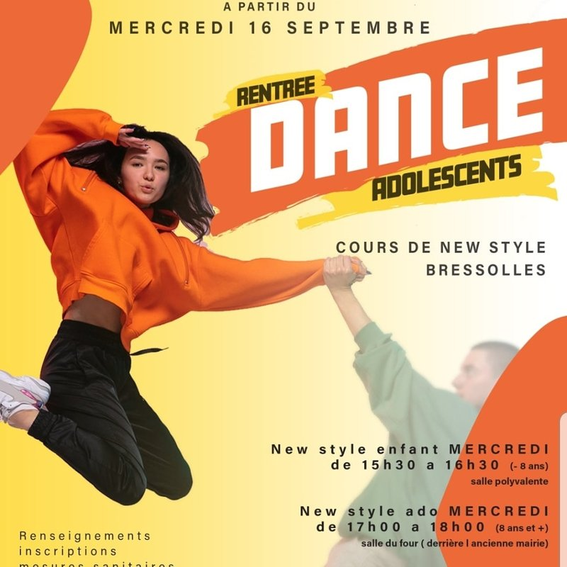 Cours New Style ados  9 ans et +