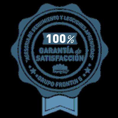 Garantía 100% Satisfacción