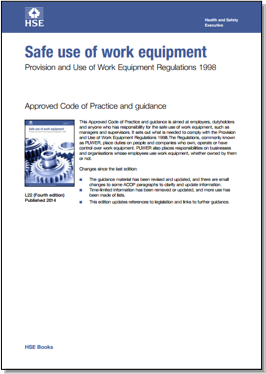 Provision and Use of Work Equipment Regulations 1998 (PUWER)