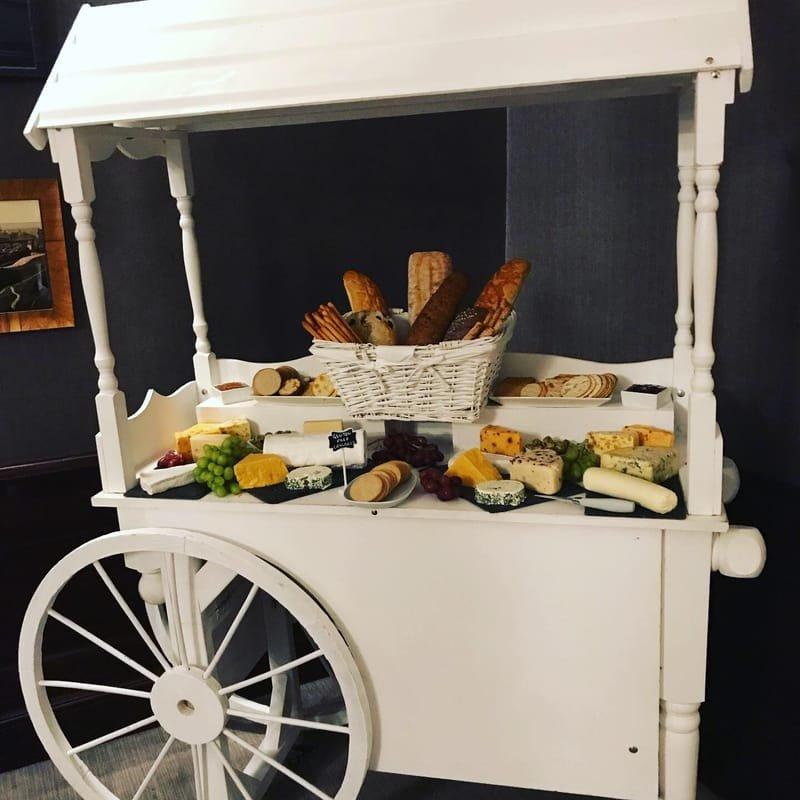 Delicious Cheese Cart