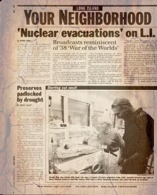 A MOCK NUCLEAR EVACUATION