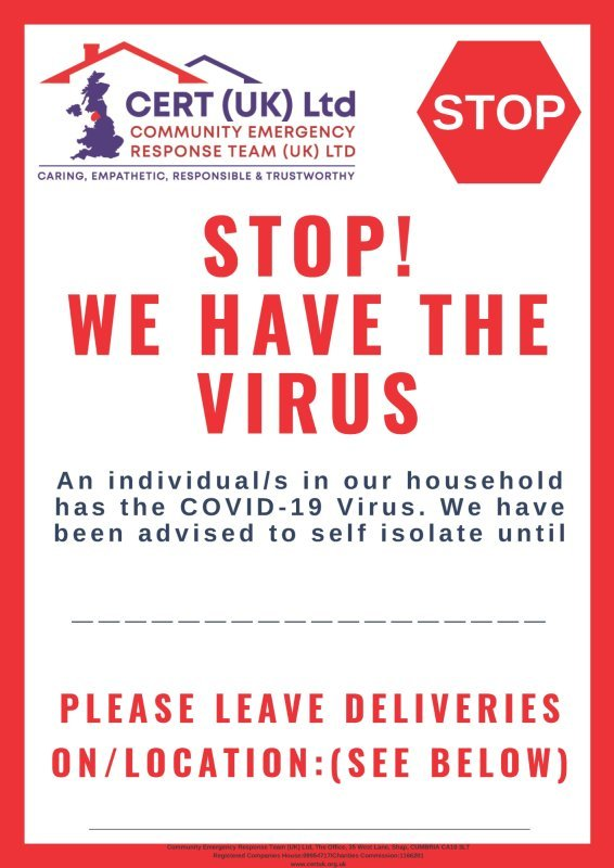 Stop We Have The Virus
