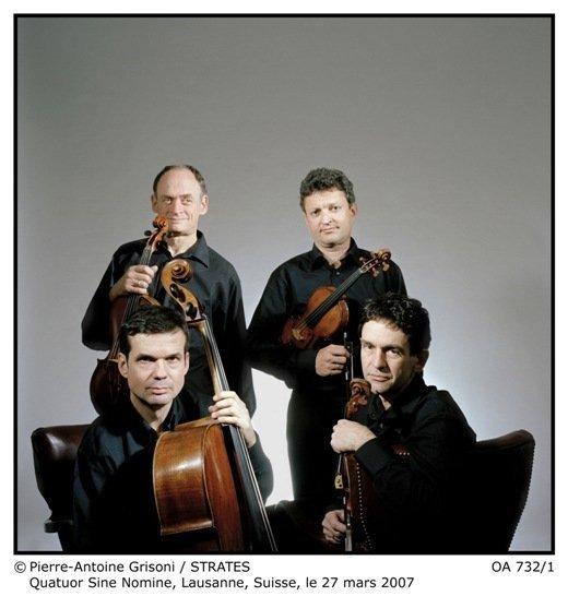 QUATUOR  SINE NOMINE  +  François GUYE, violoncelle