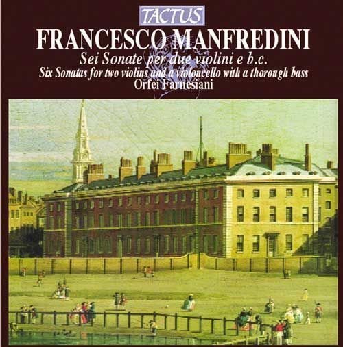 Onofrio Manfredini, Sei Sonate per due violini e basso continuo