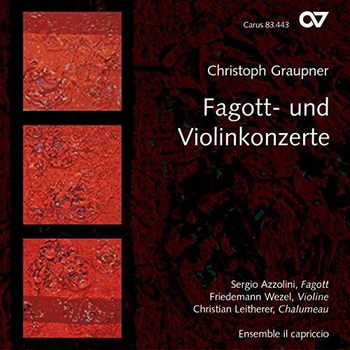 Christoph Graupner,  Fagott- un Violin Konzerte