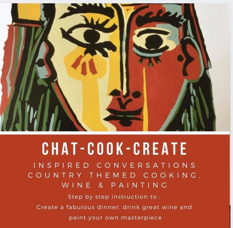 CHAT- COOK- CREATE