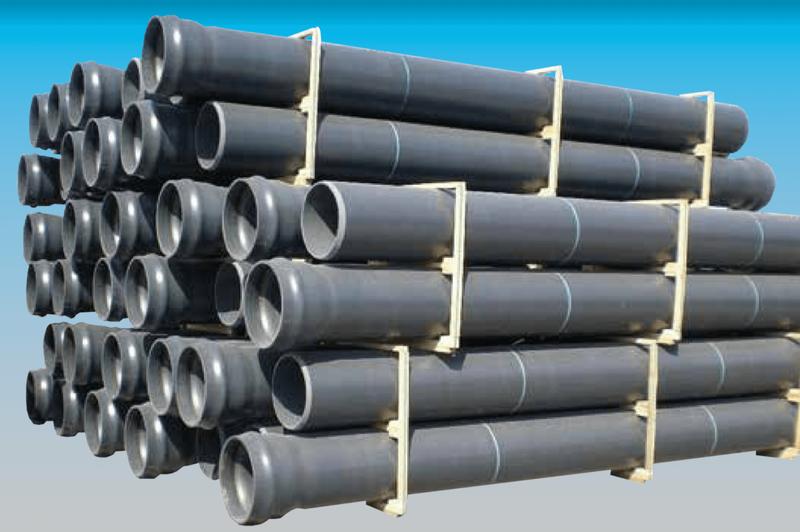 PVC Muffendruckrohre