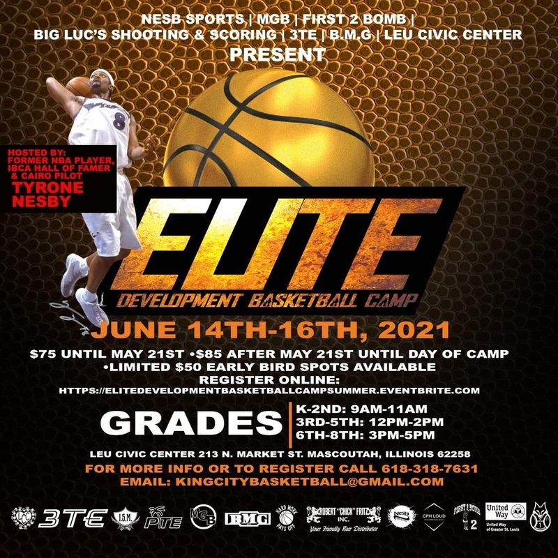 Elite basketball with Nesby