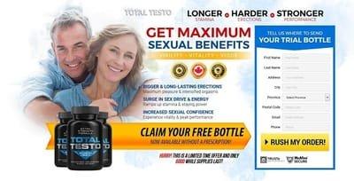 Total Testo: Boost Stamina For Sexual Peak Performance
