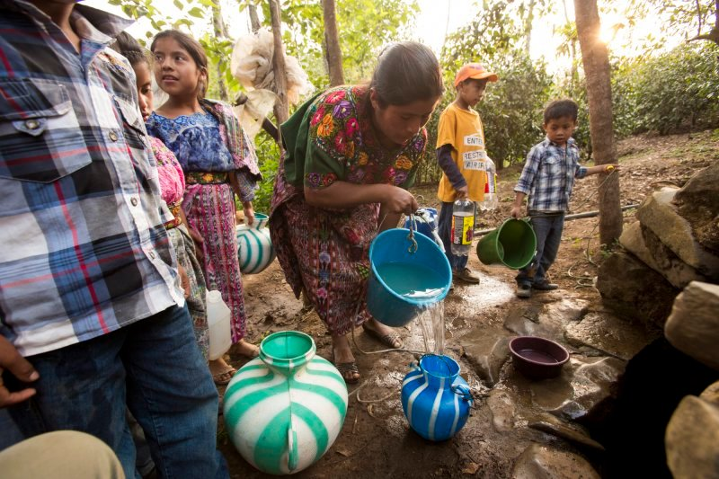 Provide clean water, sanitation, and hygiene