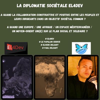LA DIPLOMATIE SOCIÉTALE DU PROGRAMME EL4DEV – LE PLAN DE CONSTRUCTION D'UNE NOUVELLE SOCIÉTÉ CIVILE