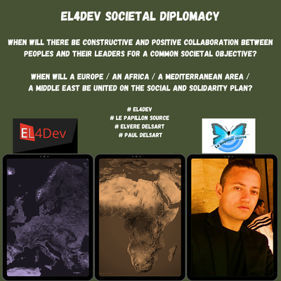 SOCIETAL DIPLOMACY OF THE EL4DEV PROGRAM - THE CONSTRUCTION PLAN OF A NEW CIVIL SOCIETY