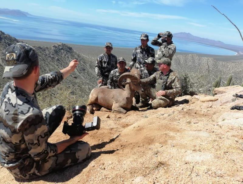 Desert Bighorn Sheep Hunting Package  $75,000 USD