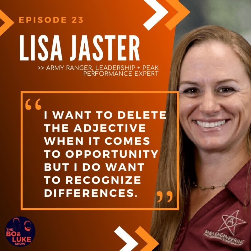 Lieutenant Colonel Lisa Jaster - US Army