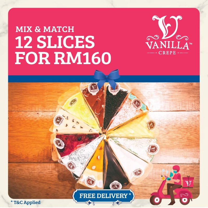 Mystery Box 12 Slices for RM160