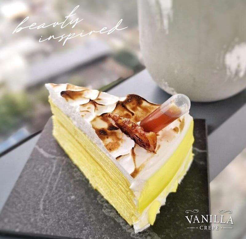 Vanilla Crepe Latest Creation: The Special Edition Lemon Collagen Crepe