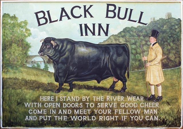Frosterley (The Black Bull Inn) County Durham.