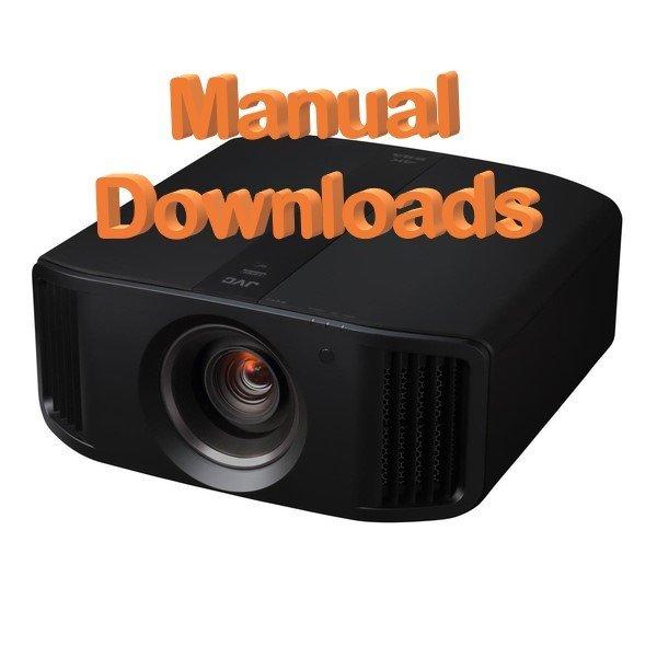 JVC Projector Instruction Manuals