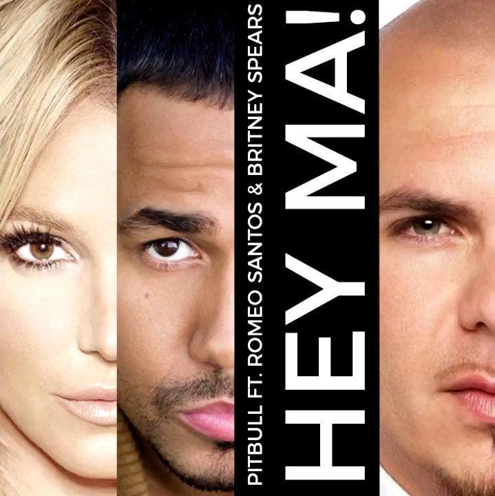 Pitbull Feat. Britney Spears & Romeo Santos - Hey Ma