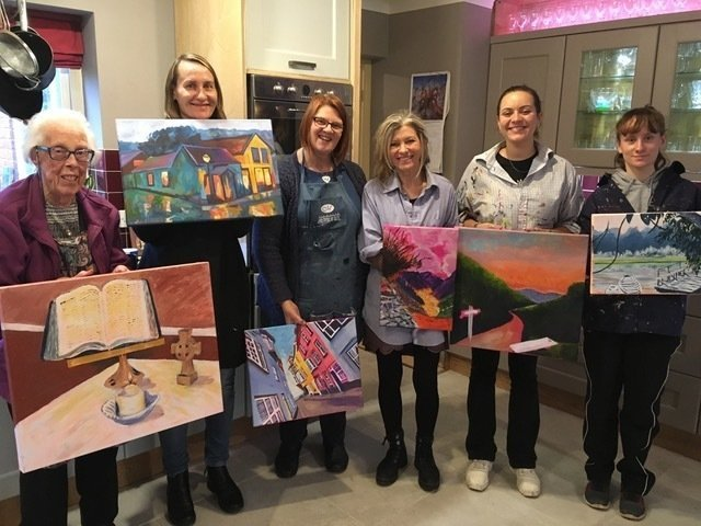 Monthly Sunday Art Sessions for Adults