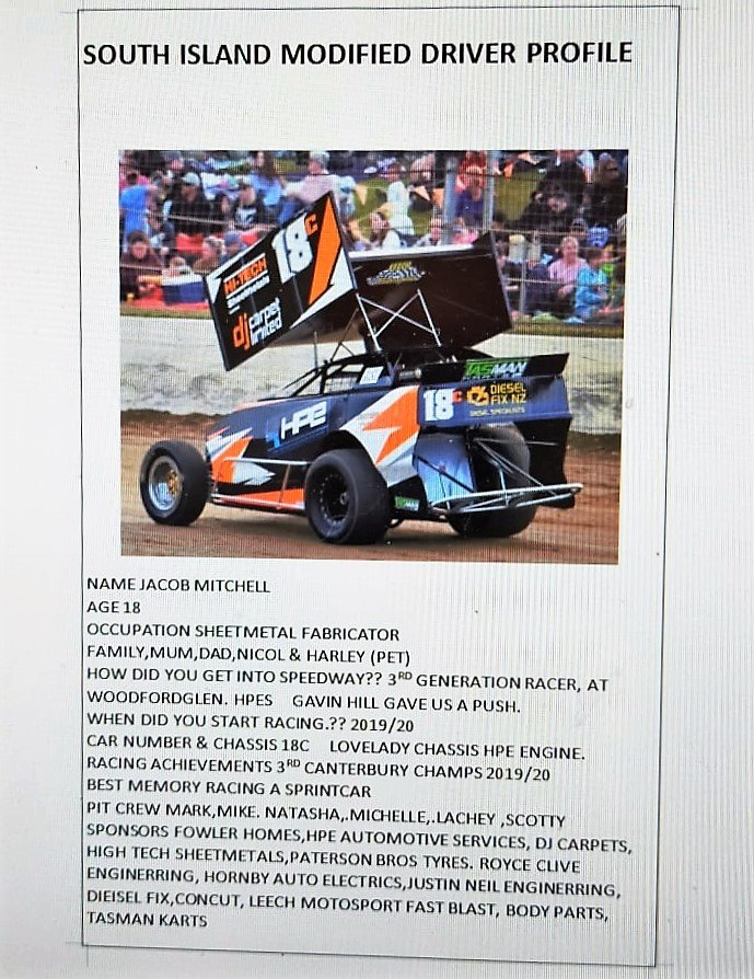 Jacob Mitchell 18c Lovelady Modified