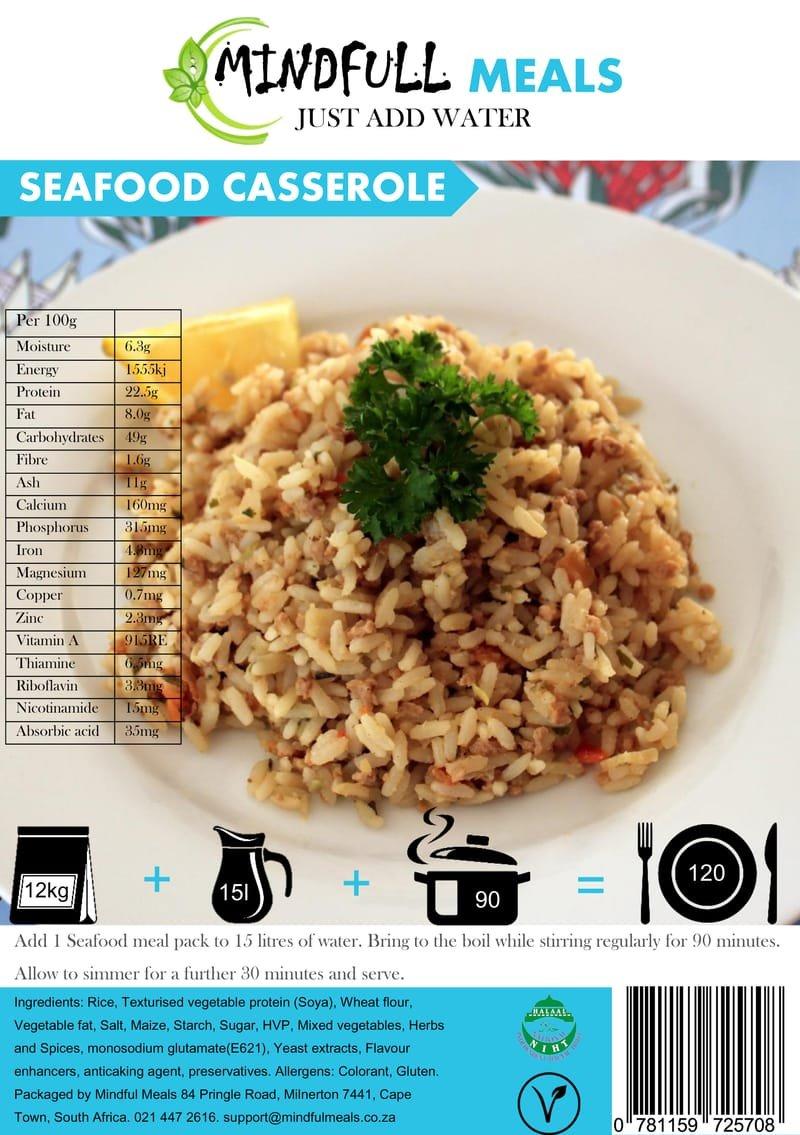Seafood Casserole 12kg