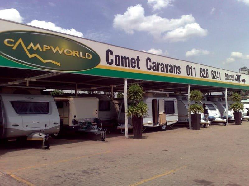 Comet Caravans
