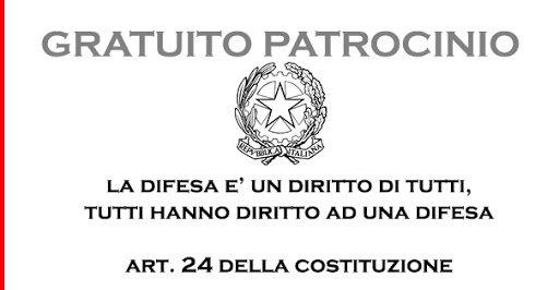 GRATUITO PATROCINIO IN AMBITO PENALE